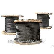 Канат стальной 5.7 ГОСТ 3077-80 двойной свивки типа ЛК-О фото
