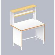 Стол пристенный физический ЛАБ-1200 ПЛ (ламинат) фото