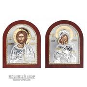 Венчальная Пара Спаситель И Владимирская Богородица Код товара: ОGOLD фото