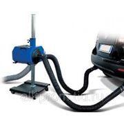 Мобильное устройство для вытяжки отработавших газов легковых автомобилей с двумя выхлопными трубами FAN75-2 (Италия) фото