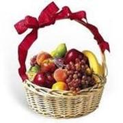 Доставка корзин с фруктами фото