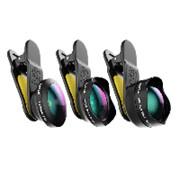 Комплект универсальных линз для смартфонов Black Eye Pro Kit G4 (G4PK001) фото
