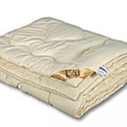 Одеяло из овечьей шерсти Люкс-меринос полутораспальное очень теплое фото