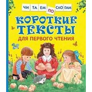 Книга. Читаем по слогам. Короткие тексты для первого чтения фото