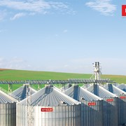 Зернохранилище с плоским дном 2233 фото