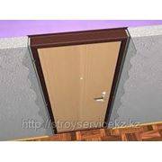 Установка дверей входных в алматы фото
