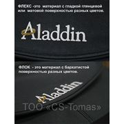 Нанесение логотипа методом флекса PVC, флока фото
