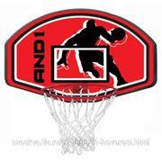 Баскетбольный щит AND1 Junior Backboard and Goal Combo SS13 красный фото