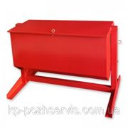 Ящик для песка 0.35 м3 (перекидной) фото