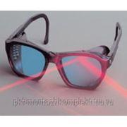 Специализированные очки для защиты от лазерного излучения фото