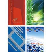 Книга учета А4 Первая образцовая типография 128 л., клетка, 7БЦ, глянц. ламин., К-921 фото