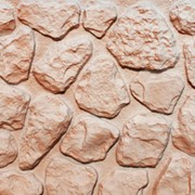 Сайдинг цокольный пластиковый Аэлит Камень Мелкий фото