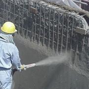 Торкретирование, набрызг бетона фото