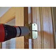 Установка межкомнатных дверей в алматы фото