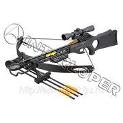 Арбалет блочный Sniper (Гепард) чёрный фото