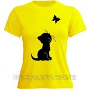 Нанесение фото или логотипа на футболку фото