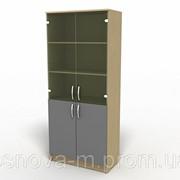 Шкаф для документов /со стеклом/ 7107 фото