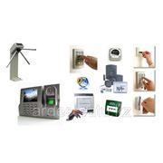 Система контроля и управления доступом, монтаж турникетов фото