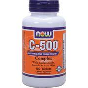 Витамин С-500 Аскорбат Кальция (C-500 Calcium Ascorbate) 100 кап фото