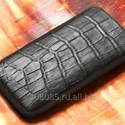 Чехол Samsung I9010 Giorgio Armani Coccodrillo nero фото