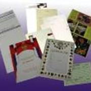 Разработка макета визитки, бланка, конверта фото