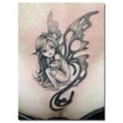 Разработка индивидуальных эскизов татуировок фото