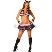 Игривый костюм кошечки R-1419 фото