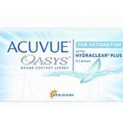 Контактные линзы Acuvue Oasys for Astigmatism (6 шт.) фото