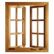 Изготовления деревянных окон на заказ фото