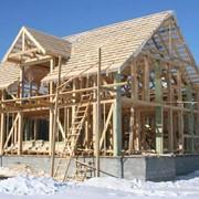 Строительство канадского дома фото