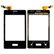 Тачскрин (сенсорное стекло) для LG E400 фото