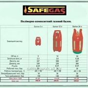 Газовые полимерно-композитные баллоны (5л, 12л, 24л) фото