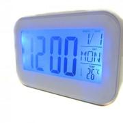 Часы будильник термометр календарь 2620 White par002214opt фото