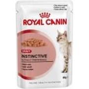 Корм Royal Canin Instinctive Gravy Паучи для кошек кусочки в соусе 12 шт. по 85 гр фото
