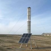 Роторная ветроэлектрическая станция фото