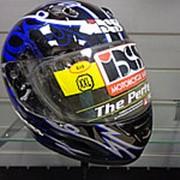 Шлем X14007349 HX246(черн\син\сер) 2XL фото