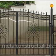 Дачные ворота №58 фото