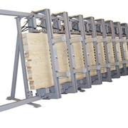 Пресса однопролётные гидравлические для изготовления бруса от 3м до 12 метров, ПВ3000, ПВ6000, ПВ12000 фото