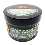 Глина марокканская черная мылящаяся для волос и тела Planeta Organica 450мл фото