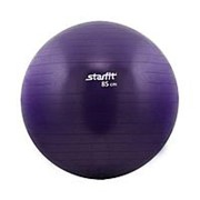 Мяч гимнастический Starfit GB-101 85 см антивзрыв, фиолетовый фото