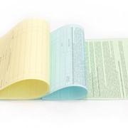 Бланки на самокопирующейся бумаге фото