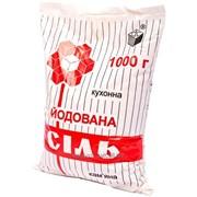 Соль в полиэтиленовой пачке 1 кг йод фото