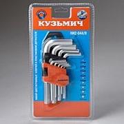 Набор шестигранных ключей 9 предметов Кузьмич НИ2-044/9 (60) фото