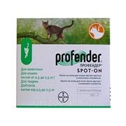 Профендер 0,35 мл. для котов весом от 0,5-2,5 кг. фото