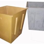 Контейнер для твёрдых бытовых отходов объёмом 0,75 или 1 м3. фото