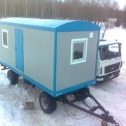Вагончик на шасси, мобильное здание, Пермь фото
