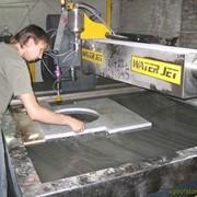 Апарат гидрообразивной порезки WaterJet фото