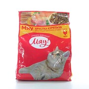 Сухой корм для котов с куркой 400г - МЯУ фото