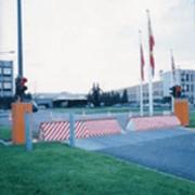 Установка дорожных блокираторов фото