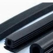 Резиновые шнуры круглого и прямоугольного сечений фото